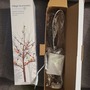 Department 56 Accessory CHRISTMAS BARE BRANCH TREE